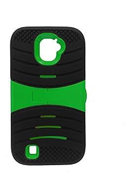 FastSun U-Stand Hybrid Armor Case Phone Cover for ZTE Jasper LTE Z718TL  Black-Green