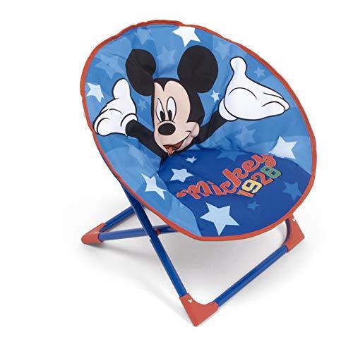 Familie24 Kindersessel gepolstert Auswahl klappbar Sessel Fernsehsessel Faltsessel Kindermöbel Spiderman Avengers (Micky Maus)