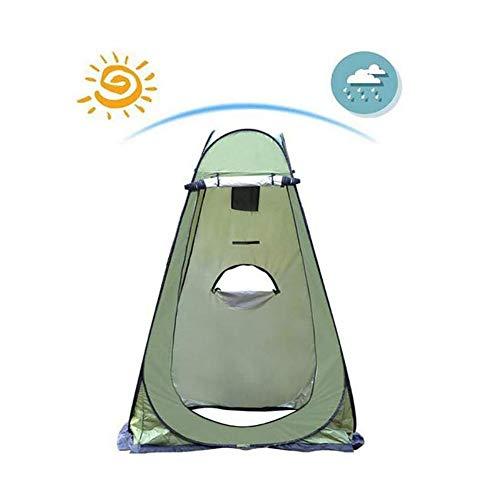 Tienda De Campaña Tent Tienda Ducha Camping Abrir Cerrar Automáticamente Pop Up Portable Sirve Para Camping Playa Bosques Zonas De Montaña Ducha Aseo Carpas ( Color : Armygreen , Size : 1.2x1.2x1.9M )