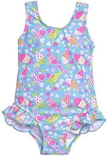 Flap Happy Girl's One Piece Swimsuit