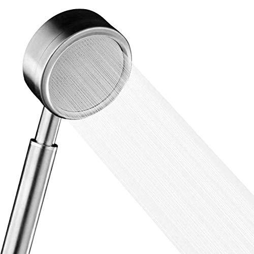 DGDHSIKG Duschkopf Duschkopf Baddruckverstärker Wassersparender Duschkopf Technisches Isolationsspray Regendüse, 304 Edelstahl