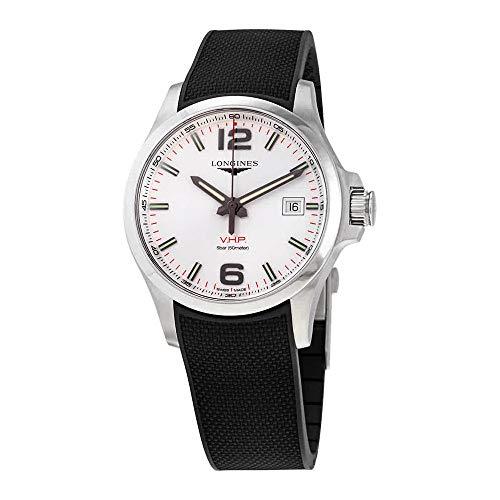 Longines Conquest V.H.P. Perpetual Quartz Silver Dial Men's Watch L37264769