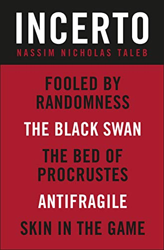 Incerto 5-Book Bundle: Fooled by Randomness, The Black Swan, The Bed of Procrustes, Antifragile, Skin in the Game (English Edition)