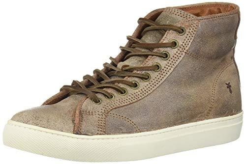 Frye Men's Walker Midlace Sneaker, Chocolate, 10.5 M US