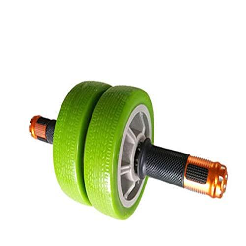 Zwei Radlager Power Roller Bauchmuskeln Rad Fitnessgeräte Griffige Verschleiß ab Roller Rad Unisex Abdominal Sports Roller (Farbe : B)