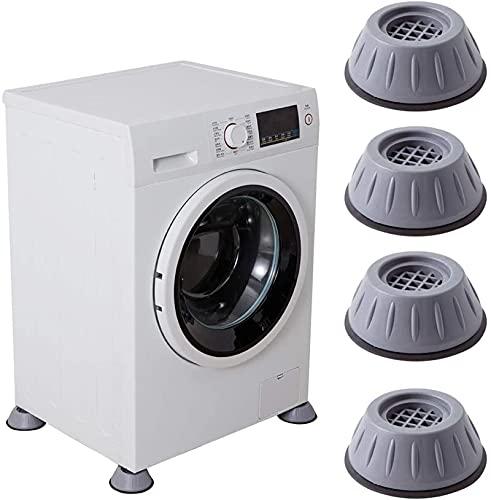 Support de machine à laver à suppression des chocs et du bruit, coussinets de support de machine à laver anti-vibrations, coussinets de pied de...