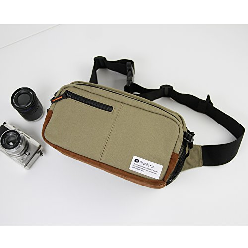 Parcferme(パルクフェルメ)8号帆布の一眼用3Wayカメラバッグ サンドアイボリー