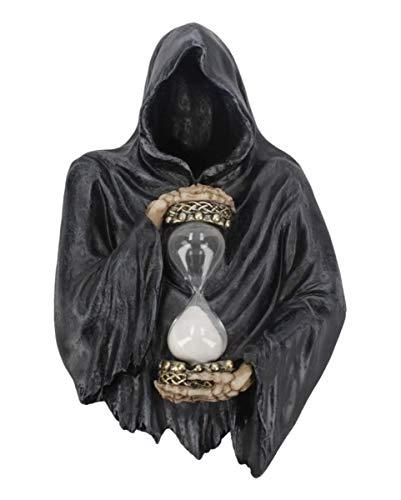 Horror-Shop Grim Reaper Sensenmann Sanduhr zum Aufhängen