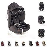 Lorelli Kindersitz Lusso, SPS, Isofix, Gruppe 0+/1/2/3, (0-36 kg), Sitz drehbar, Farbe:schwarz Krone