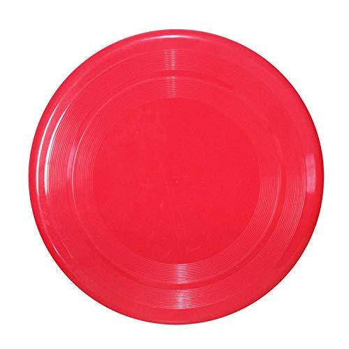 Plastic frisbee children's ultimate frisbee children's frisbee hard frisbee hard frisbee-Red (23CM