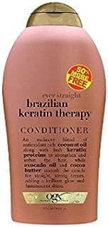 Organix Ever Straight Brazilian Keratin Therapy Conditioner 50% Free. 19.5 fl oz