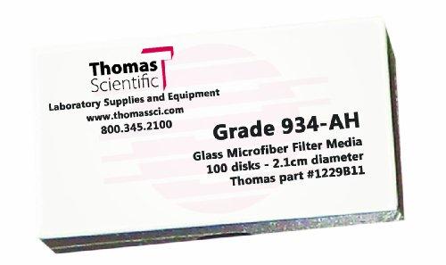 Thomas ah4700 borosilicaatglas microvezel filter, 1,5 micron, Fast Flow, Grade 934-ah, 47 mm diameter (100 stuks)