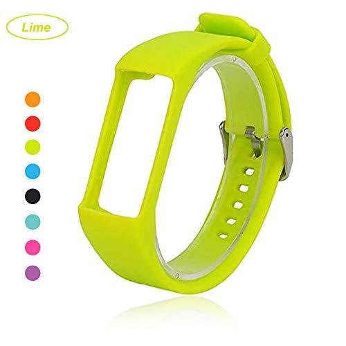 Bemodst® Armband für Polar A360 Fitness-Tracker, Ersatzzubehör Uhrenarmband, weiches Silikon Schreibband Armband für Polar A 360 Smartwatch, lime