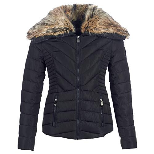 Superdry Arctic Glaze Jacket Mäntel Damen Schwarz - DE 38 (UK 12) - Daunenjacken Outerwear