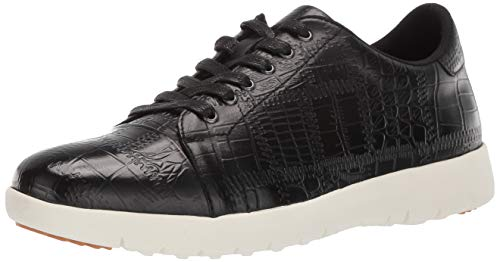 STACY ADAMS Men's Halcyon Exotic-Print Cap-Toe Lace-up Sneaker
