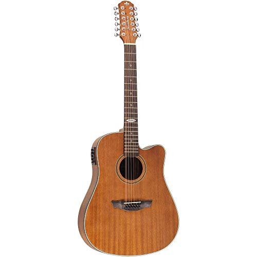 Strinberg Folk Sd220c Mgs 12 Strings Black Mahogany