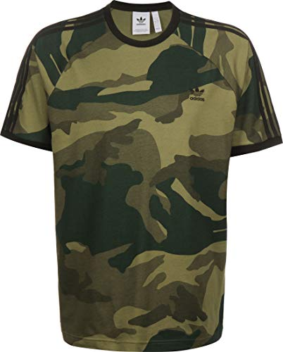 adidas Herren CAMO CALI T T-Shirt, Multicolor, XL