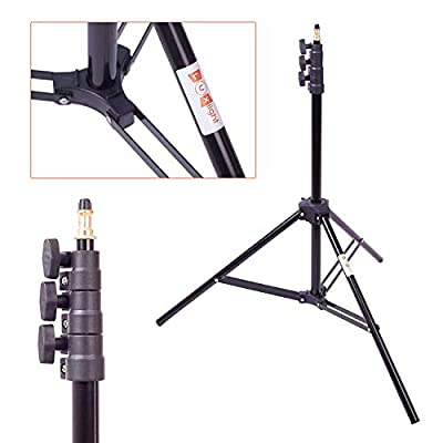 2.3m Light Stand | Luxlight® | Compact Air Cushion Support for Photo & Video Lights