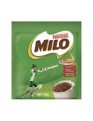 Bolsitas Milo de un solo servicio 20g x 100
