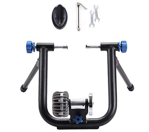 Bike Trainer Stand - Fluid Trainer Bike Stand - Biciclette Turbo Trainer - Indoor Bike Turbo Trainer - Fit 26-29' / 700C Mountain & Strada della Bicicletta,A