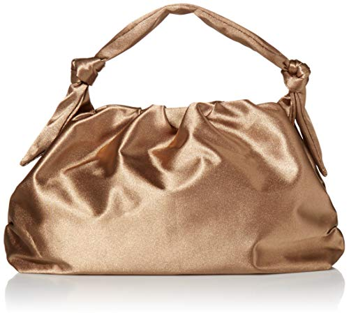 The Drop Women's @lucyswhims Satin Knotted Handle Bag, Praline, One Size