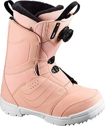 Salomon Pearl BOA Womens Snowboard Boots Tropical Sz 9.5 (26.5)