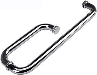 armrest Shower room handle bathroom glass door stainless steel door handle sliding door sliding door handle (Size : 200 * ...