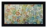 Spectrum by Sally Bennett Baxley - 14' x 24' Black Framed Canvas Art Print - Ready to Hang