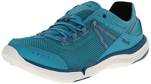Teva Women's Evo Water Shoe, Lake Blue, 7 M US