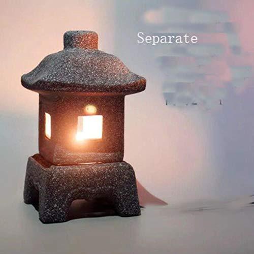 Japanse stijl lamp imitatie steen kleine wind lamp tuinornamenten kaarslicht tuindecoratie, apart