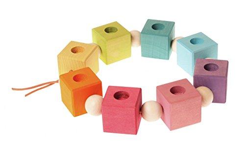 Grimms 01781 Geburtstagswürfel, Pastell