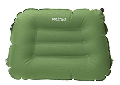 Marmot Cumulus Inflatable Camping and Backpacking Pillow, Green Lichen, One Size