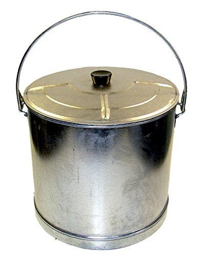 'Imex el zorro 10185 – Seau droit renforcé avec couvercle (14, diamètre 35 x 31 cm)