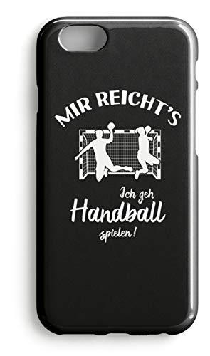 shirt-o-magic Handyhülle Handballer: Ich geh Handball spielen! - Case -iPhone 7 Plus-Schwarz