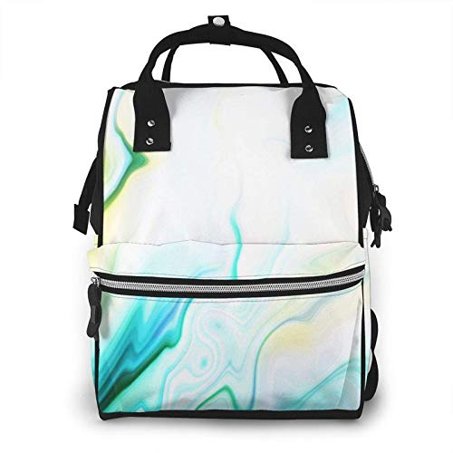 Nappy Changing Bag Backpack, Large Diaper Bags Hipster Cat Red Women Multi-Function Waterproof Maternity Nappy Back Pack for Baby Care Mom Dad Travel