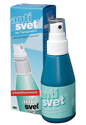 Antisvet antitranspirant Pumpspray, 6er Pack (6 x 50 ml)