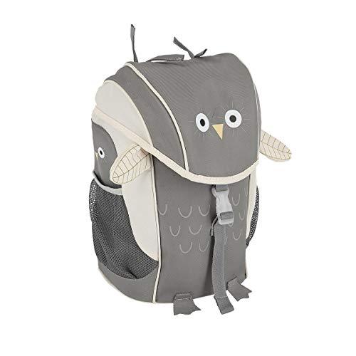 SPIRIT Kids Rucksack Schulrucksack Schoolbag Schultasche große Kapazität Reisetasche Jungen Mädchen ''OWL'' (KIDOO Kollektion)