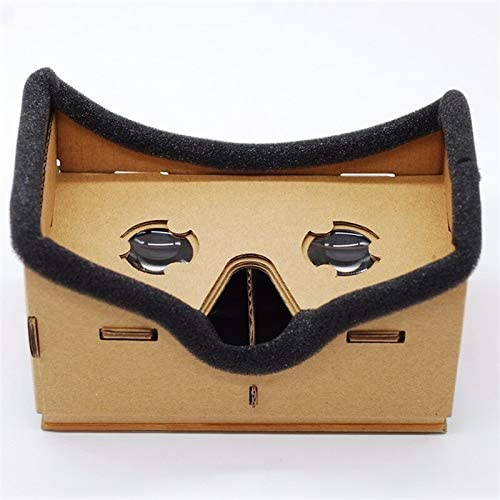 None Virtual Reality Google Cardboard Experience VR 3D Glasses Box Movies 7 Smartphones Universal product image
