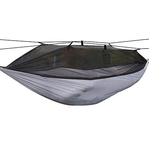 Lixada Camping Hammock with Mosquito Mesh Net Lightweight Portable Hammock for Backpacking Camping Traveling Backyard