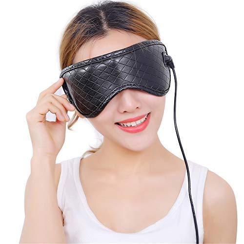 BCLGCF Hot Steam Augenmaske Heizung Augenmaske, Heizung Augenmaske Heizkissen, Einstellbare Temperatur...