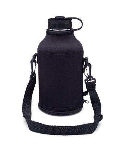 Taste Drink Go Growler Carrier for Beer Growler - Bag keeps 64 oz. Stainless Steel Beer Growler Secure - Start Carrying a Growler With Ease!
