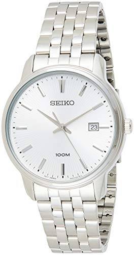 Seiko Neo Classic Silver Dial Men's Watch SUR257P1