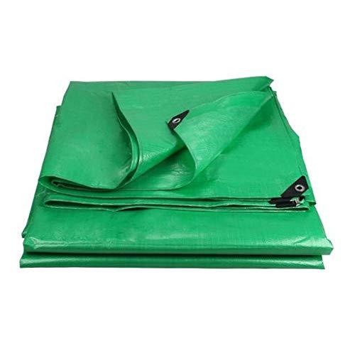 HQQ Lona Multiusos Resistente al Agua for Uso en Exteriores Cubiertas de Madera Camping Green 180g / m² (Size : 8x12m)