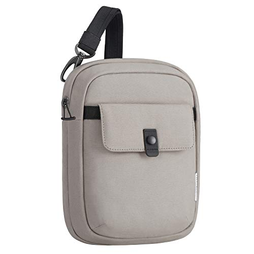 Travelon Origin-Anti-Theft-Slim Bag-SILVADUR Treated, Driftwood, One_Size
