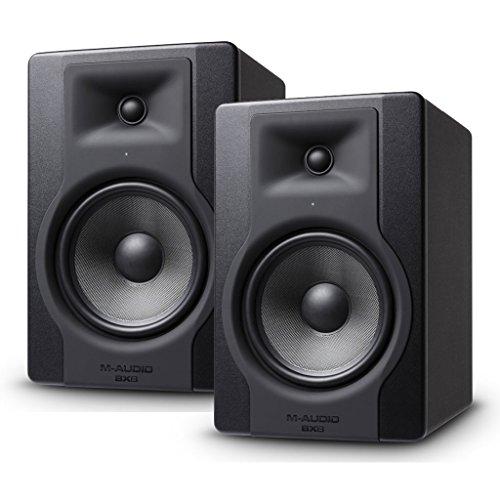 2x M-Audio BX8D3activa proximidad referencia de monitor de estudio