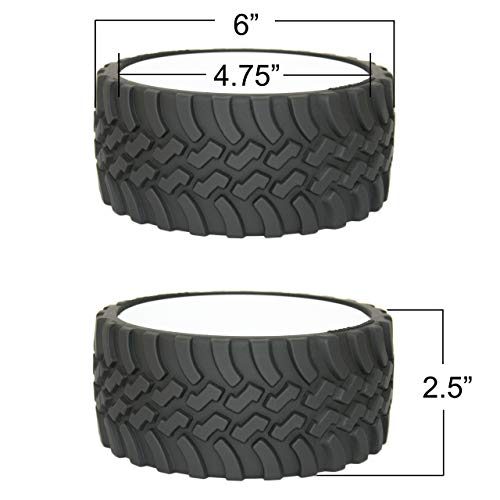 Product Image 3: WRENCHWARE – Knobby Tread Rubberized Tire Bowl used by Gearheads, NASCAR Fans, Mechanics, Motorheads, Car Engineers, and that Munchkin in your life. Pistachio Bowl, Popcorn Bowl, Pretzel Bowl.