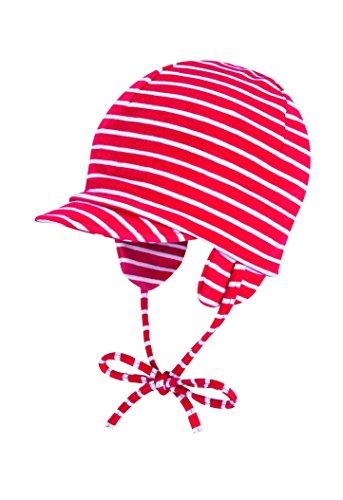 Döll Unisex Baby Bindemütze mit Schirm Jersey Schirmmütze, Rot (chinese Red 2000), (Herstellergröße: 41)