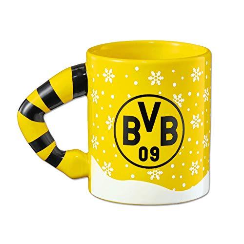 Borussia Dortmund Unisex– Erwachsene Tasse, Schwarz/gelb, 0,3 Liter