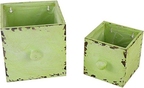 Michel-Toys schublade Lot de 2 Pot de Grun.