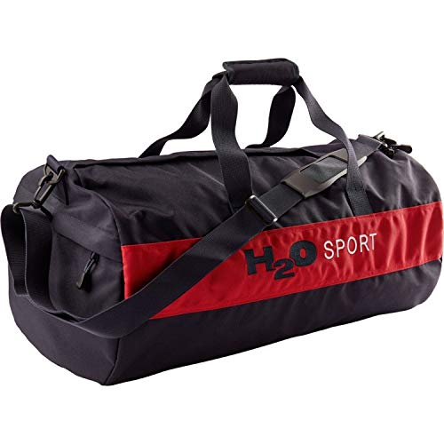 H2O Unisex Sporttasche Helsingör (Helsingor) Sports Bag L navy/rot - 48L